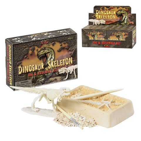 Dino Skeleton Dig- Assorted