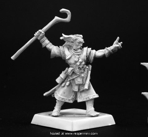 Miniature: Metal | Ezren, Wizard