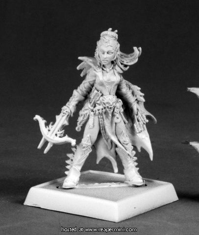 Miniature: Metal | Depora Azinrae, Dark Elf