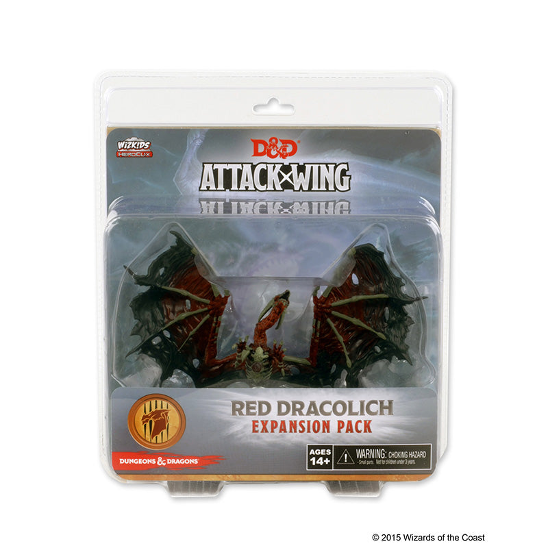 Miniature: D&D Attack Wing | Wave 5- Red Dracolich