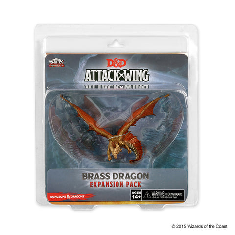 Miniature: D&D Attack Wing | Wave 8- Brass Dragon