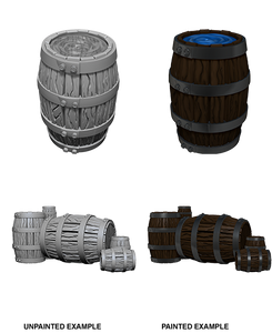 Miniature: Deep Cuts | Barrel & Pile of Barrels