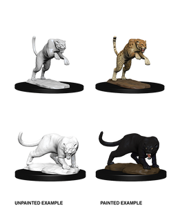 Miniature: Nolzur's | Panther and Leopard