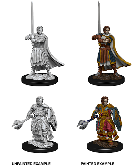 Miniature: Nolzur's | Male Human Cleric