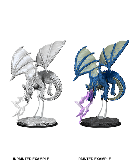 Miniature: Nolzur's | Young Blue Dragon