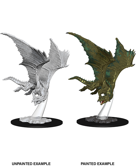 Miniature: Nolzur's | Bronze Dragon Young