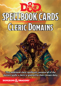 D&D 5e: Spellbook Cards | Cleric Domains v2