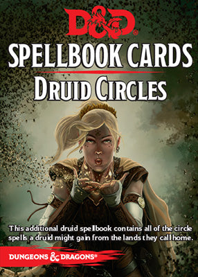 D&D 5e: Spellbook Cards | Druid Circles v2