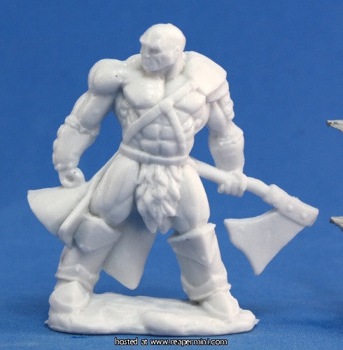 Miniature: Plastic | Goldar, Male Barbarian
