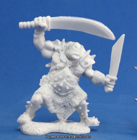 Miniature: Plastic | Orc Stalker [Two Weapons]