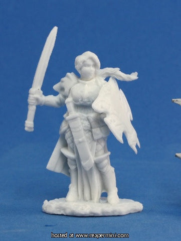 Miniature: Plastic | Trista, Female Warrior