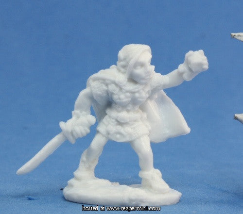 Miniature: Plastic | Ingrid, Female Gnome