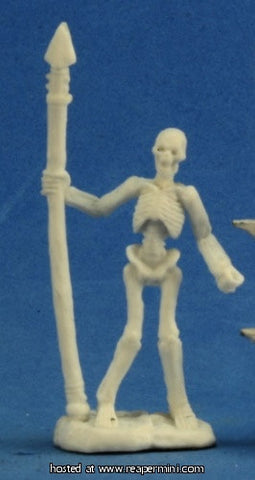 Miniature: Plastic | Skeleton Warrior Spearmen