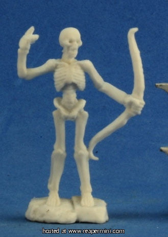 Miniature: Plastic | Skeleton Warrior Archers