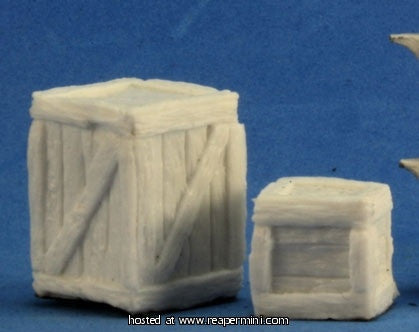 Miniature: Plastic | Large and Small Crates