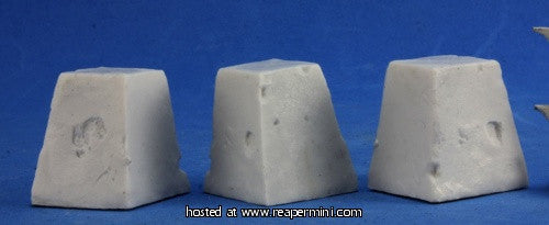 Miniature: Plastic | Dragon's Teeth 3pc
