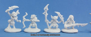 Miniature: Plastic | Pathfinder Goblin Warriors