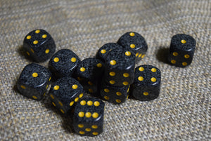 D6 Set - Speckled
