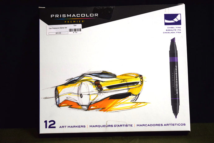 12pc Prismacolor Marker Set