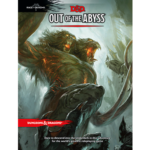 D&D 5e: Adventure Module Book | Out of the Abyss