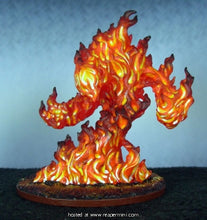 Miniature: Plastic | Large Fire Elelmental