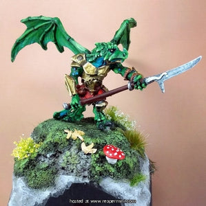 Miniature: Metal | Khesh, Dragon Man Hunter
