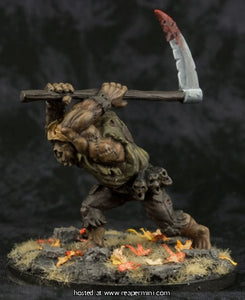 Miniature: Metal | The Scarecrow,  Flesh Golem