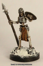 Miniature: Plastic | Skeleton Guardian Spearman