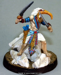 Avatar of Thoth painted