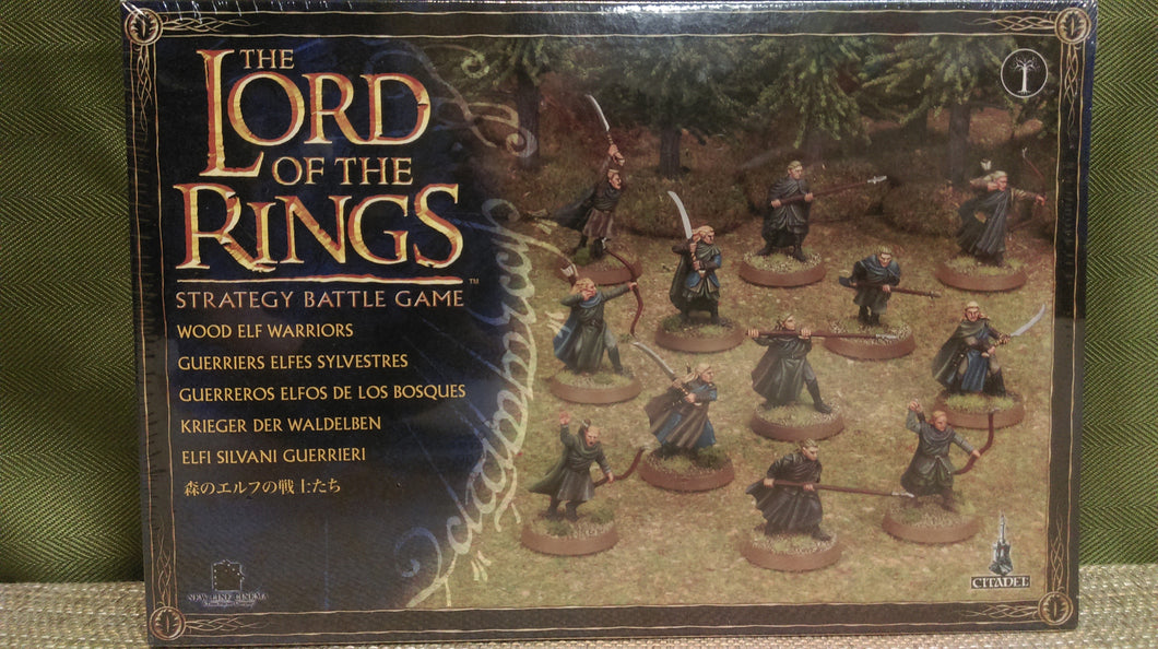 Miniature: Lord of the Rings | Wood Elf Warriors