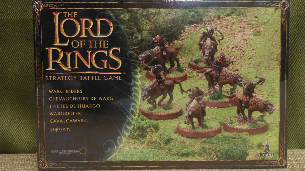 Miniature: Lord of the Rings | Warg Riders Set
