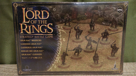 Miniature: Lord of the Rings | Uruk-Hai Warriors