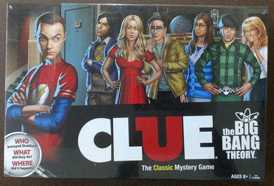 Board Game: Clue | Big Bang Theory