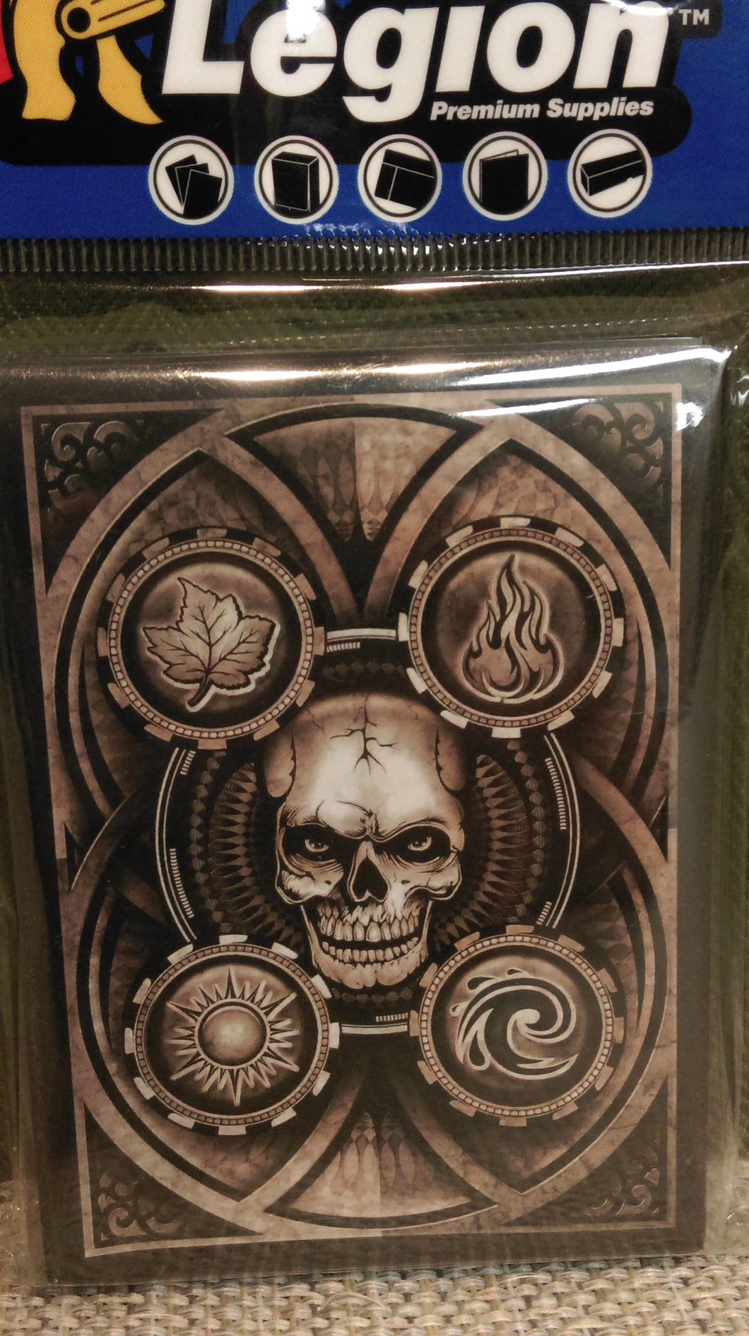 Dead Man's Hand Art card sleeves