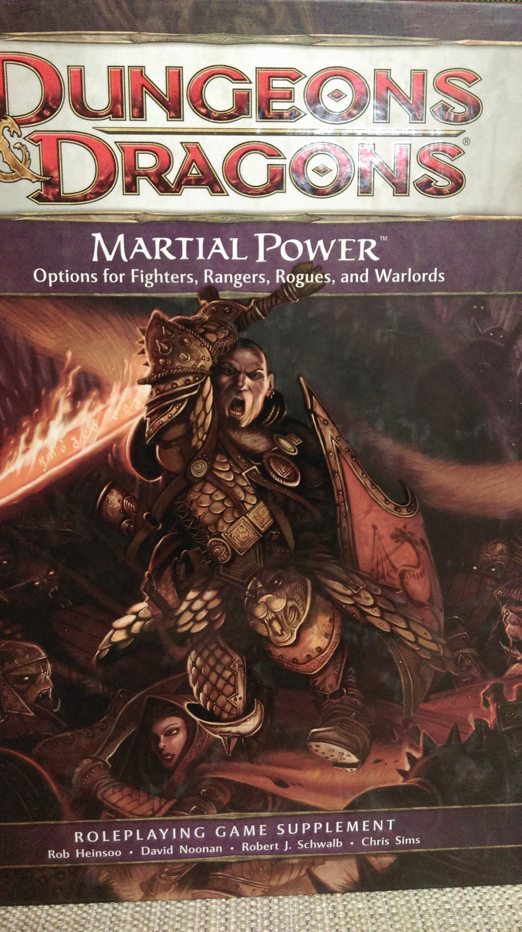 D&D 4e: Book | Martial Power