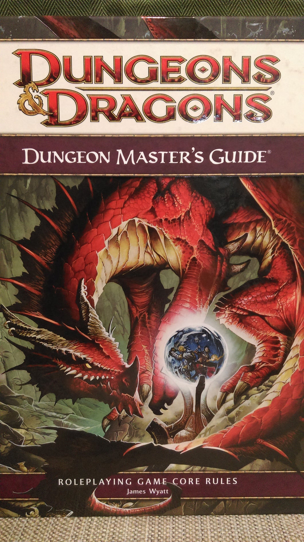 D&D 4e: Book | Dungeon Master Guide