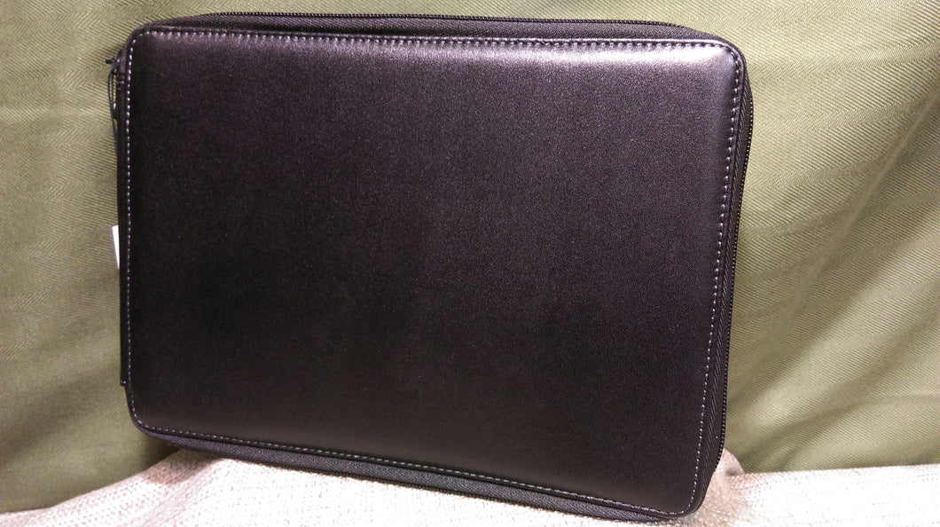Leather Pencil Case Black 120ct