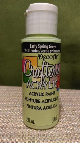 Acrylic Paint Spring Green 2 oz