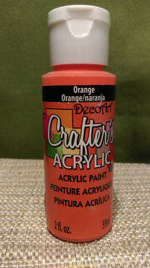 Acrylic Paint Orange 2 oz.