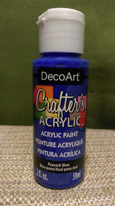 Acrylic Paint Peacock Blue 2 oz