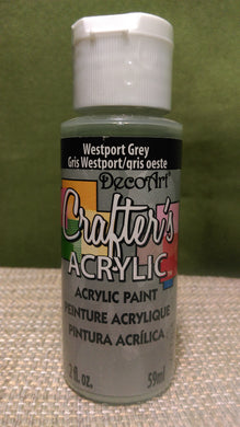 Acrylic Paint Westprt Grey 2 oz