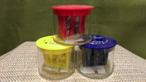 Pencil Sharpener Color-Combo Ea