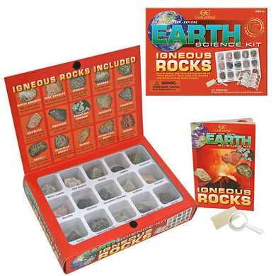 Earth Science Kit Igneous