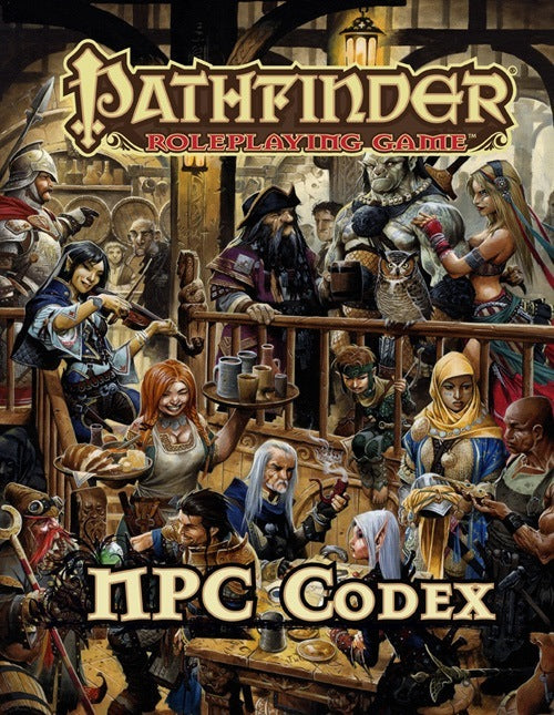 Pathfinder: Book | NPC Codex