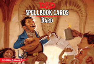 D&D 5e: Spellbook Cards | Bard v2