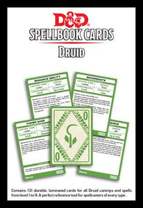 D&D 5e: Spellbook Cards | Druid v3