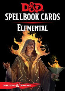 D&D 5e: Spellbook Cards | Elemental