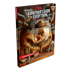 D&D 5e: Rule Book | Xanathar's Guide to Everything