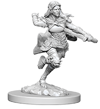 Miniature: Nolzur's | Air Genasi Female Rogue