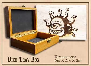 Artifact of Containment: Dice Tray Box